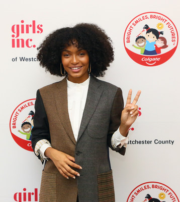 Actress Yara Shahidi and Girls Inc. of Westchester County celebrate strong, smart, and bold women and girls at the organization's annual gala in Rye Brook, New York  (Photo credit: Stuart Ramson/APImages for Girls Inc. of Westchester County).