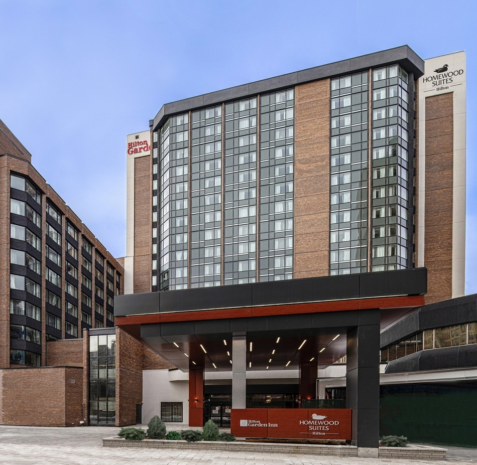 Hilton Garden Inn and Homewood Suites by Hilton Ottawa Downtown (CNW Group/Morguard Corporation)