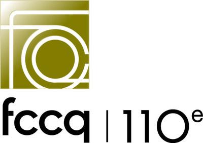 Logo 110e anniversaire de la FCCQ (Groupe CNW/Fédération des Chambres de commerce du Québec)