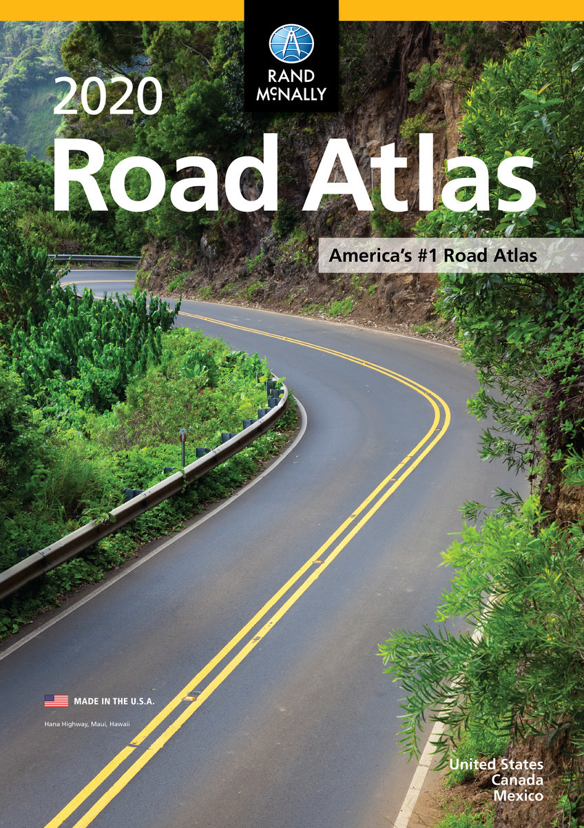 Rand McNally Releases 2020 Road Atlas