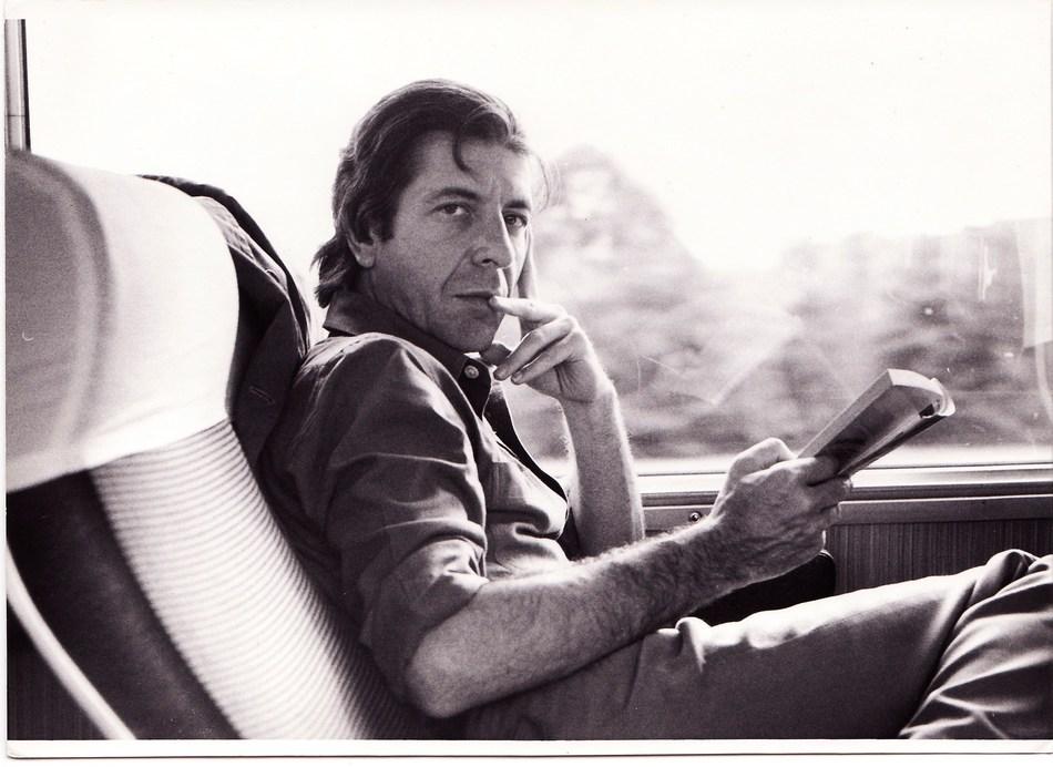 Leonard Cohen. Courtesy of Old Ideas, LLC (CNW Group/Musée d'art contemporain de Montréal)