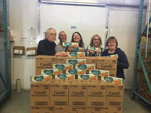Catelli Pasta launches Giving Feels Good campaign to uncover the real face of food insecurity in Canada (CNW Group/Catelli)