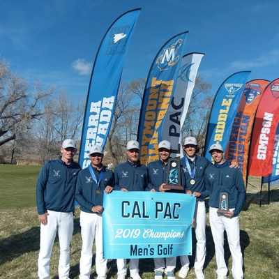 SNC Tahoe Eagles Championship team: Keaton Kissack, Jacob Luas, Kevin Bishop, Ty Casey, Conor Schubring, Coach Eric Tanguay. Photo: Cal-Pac.