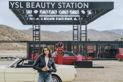 YSL Beauty Station: Un viaje musical por carretera de la mano de Kaia Gerber y Tom Pecheux