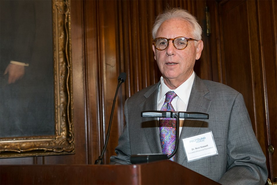 Focused Ultrasound Foundation chairman Neal F. Kassell, MD, delivered they keynote speech at Profound Medical's Analyst & Investor Day on April 11 at the University Club in New York, NY.