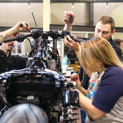 "HARLEY-DAVIDSON TEAMS WITH LOCAL TRADE SCHOOLS FOR ""BATTLE OF THE KINGS"" CUSTOM BIKE BUILD COMPETITION - Fans to Help Select Winning Designs by Voting Now"