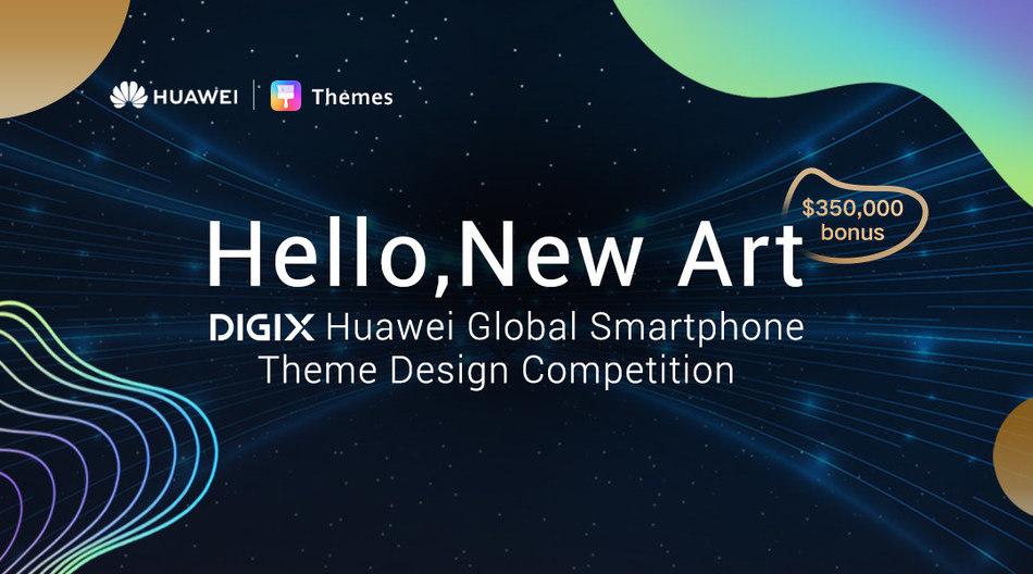 Defining the essence of future, DIGIX HUAWEI Global Smartphone Theme