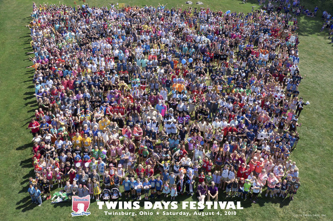 Twins Gather from Around the World
