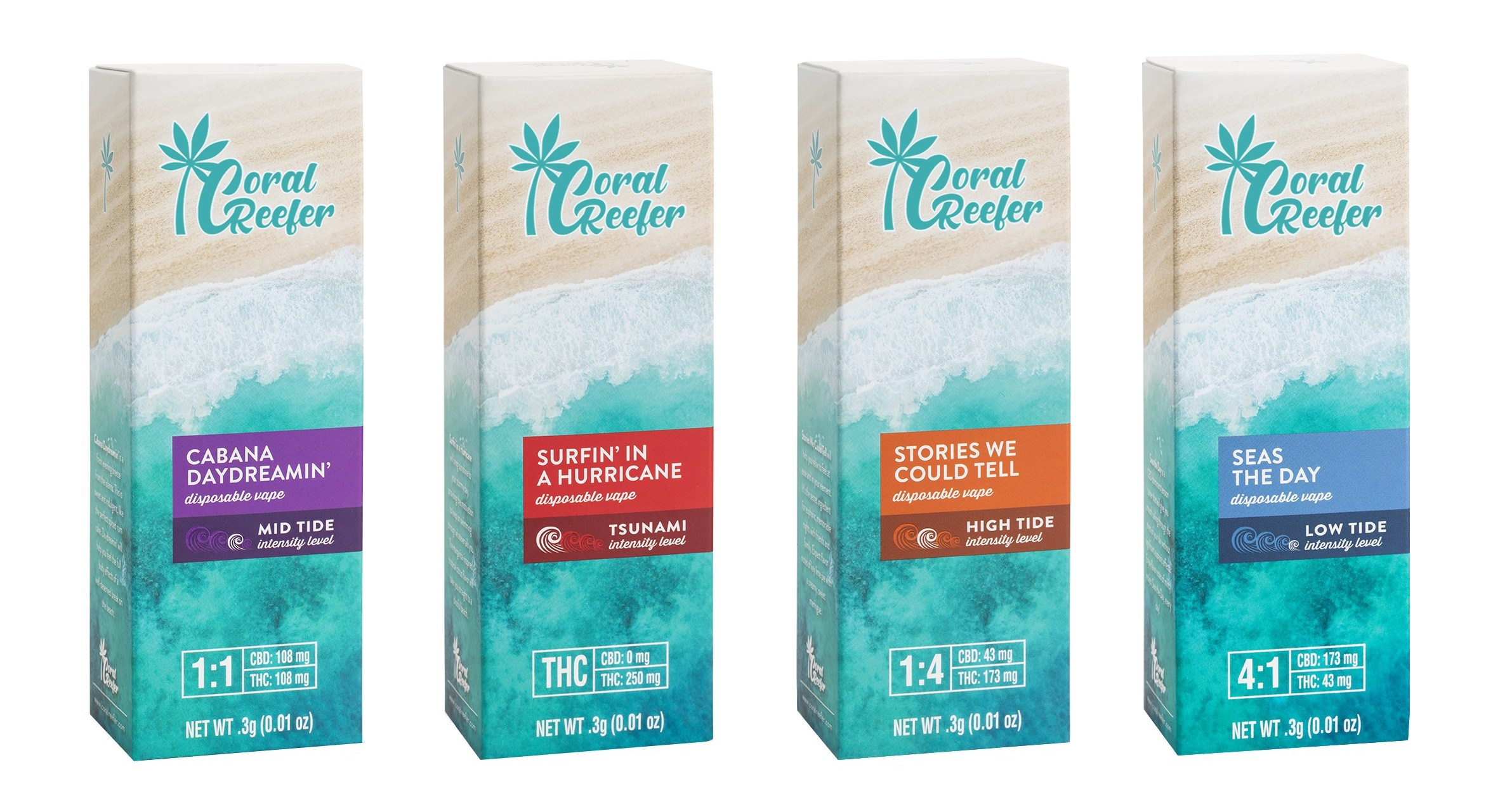 Jimmy Buffett and Surterra Wellness Launch Cannabis Brand, Coral Reefer™