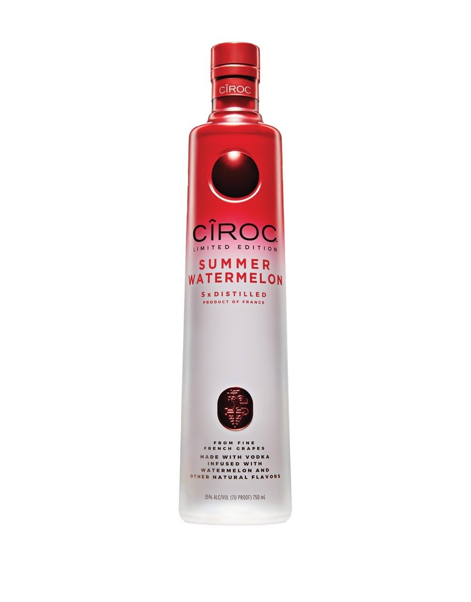 "Sean ""Diddy"" Combs, DJ Khaled and The Makers of CÎROC Ultra-Premium Vodka Get Ripe for New Limited-Edition CÎROC Summer Watermelon"