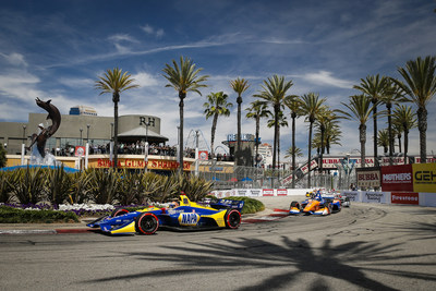 Alexander Rossi started from the pole and led 80 of 85 laps to win Sunday's Acura Grand Prix of Long Beach. The Honda IndyCar Series driver became the first to win back-to-back Long Beach races since fellow Honda driver Alessandro Zanardi accomplished the feat in 1997-98.