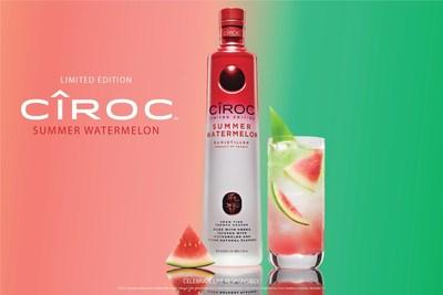 """Sean """"Diddy"""" Combs, DJ Khaled y los fabricantes de CIROC Ultra-Premium Vodka preparan la nueva edición limitada de CIROC Summer Watermelon (PRNewsfoto/CIROC Ultra Premium)"""