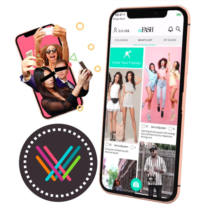 inFASH is a social platform for fashion lovers, connecting between retailers, influencers, and shoppers.
