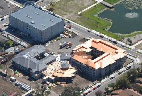 Watercrest commemorates the Topping Out of Watercrest Winter Park Assisted Living and Memory Care with a celebratory event for construction and development teams in Winter Park, FL.