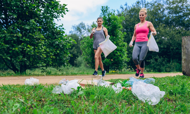 Silk is rallying support to introduce plogging as a new official Olympic event at the 2028 Los Angeles Games. The eco-friendly Swedish fitness trend combines jogging and picking up litter.