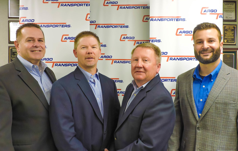(left to right) Dennis Dellinger, Jerry Sigmon Jr., Jerry Sigmon Sr., Adam Heavner