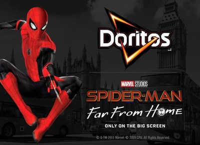 Spider-Man™: Far From Home And Doritos® Team-Up For A Global Action-Packed Promotional Partnership