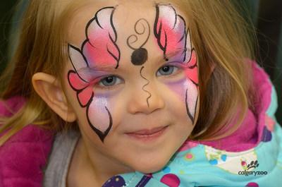 Face Painting - Easter Weekend - Calgary Zoo (CNW Group/Calgary Zoo)