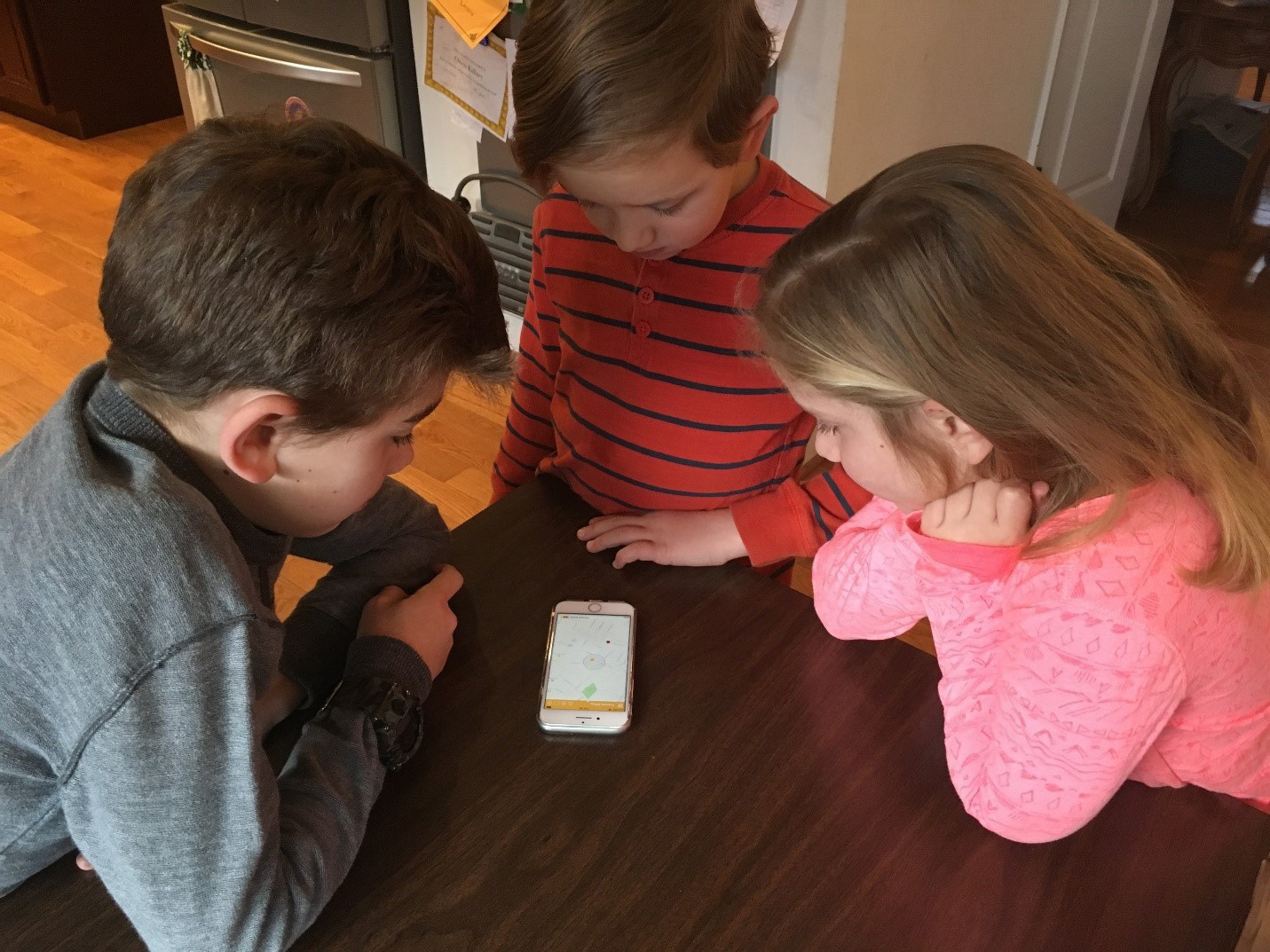 A Virginia family uses the wildly popular Here Comes The Bus app to track their school bus arrival time. Synovia Solutions launched the school bus tracking app in 2015 and it has quickly grown to serve nearly 300 school districts across North America.