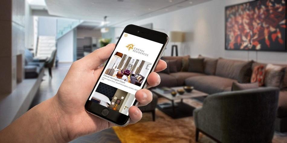 Criton developed app for Cheval Residences