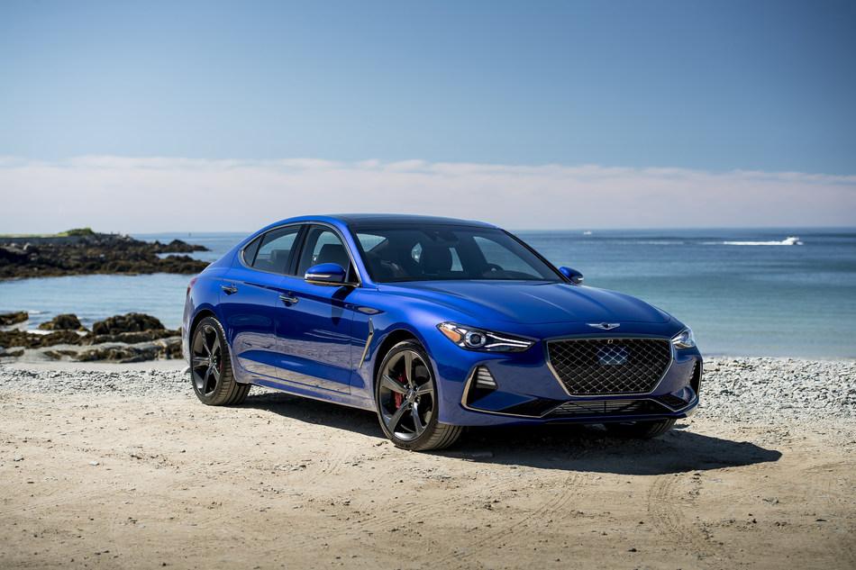 The 2019 Genesis G70 luxury sport sedan receives Good Housekeeping 2019 Best New Car Award.