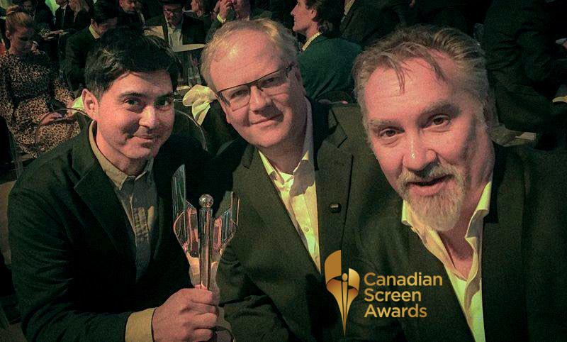 Alumni Sanjay Mehta and faculty Doug McClement and Michael Philip Wojewoda win CSA. (CNW Group/Harris Institute)