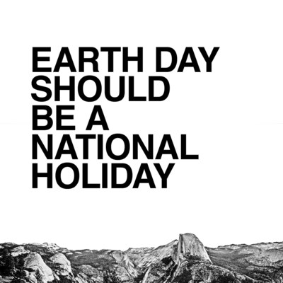 The North Face Launches a Global Effort to Make Earth Day a National Holiday