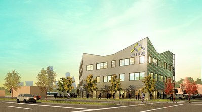 A rendering of Avenue Center.