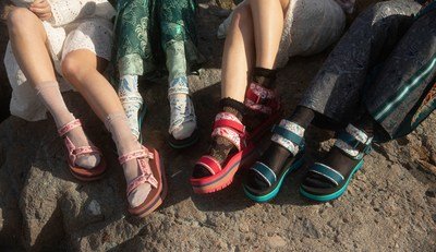 Teva x Anna Sui Collaboration Collection