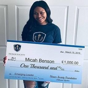 Honor Society Foundation Scholarship Recipient (PRNewsfoto/Honor Society Foundation)