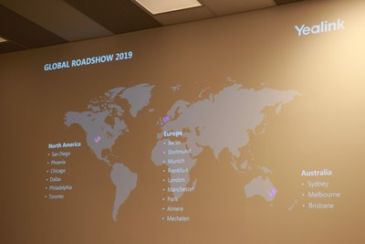 Yealink Global Roadshow 2019