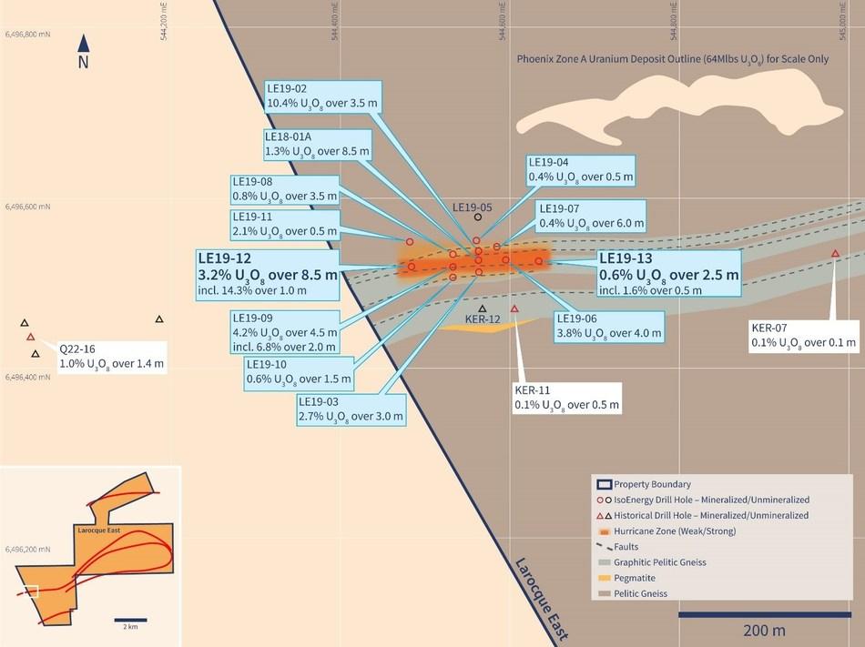 Figure 2 – Hurricane Zone Planview (CNW Group/IsoEnergy Ltd.)