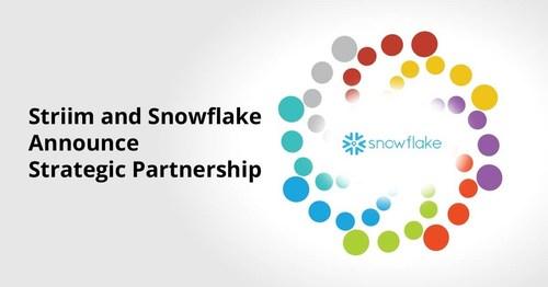 Striim and Snowflake Announce Strategic Partnership