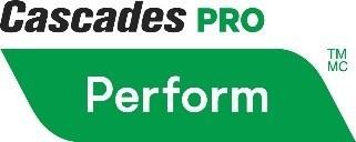 Logo: Cascade PRO Perform (CNW Group/Cascades Inc.)