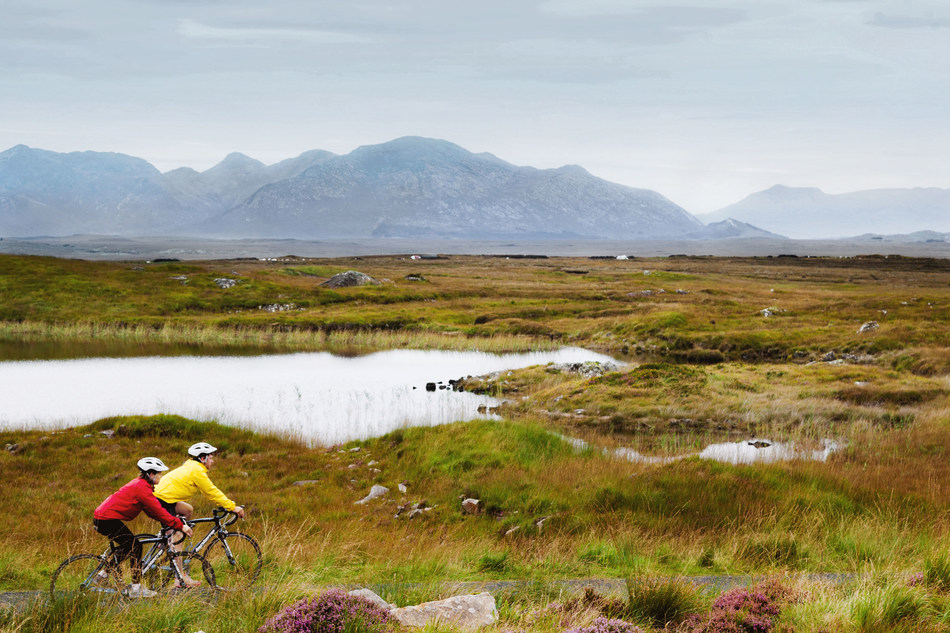 Adventure travel leader REI ramps up cycling assortment by doubling number of itineraries; adds options for eBike and bring your own bike to appeal to cyclists' broad interests and abilities. Pictured: REI Ireland Coastal Cycling