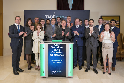 GMP Securities 2019 Cannabis Conference Opens the Market (CNW Group/TMX Group Limited)