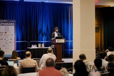Shahid Chohan at Big Data Toronto 2018 (CNW Group/Corp Agency)
