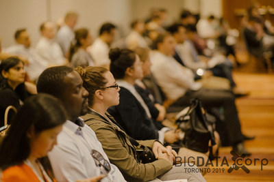Audience at Big Data Toronto 2019 (CNW Group/Corp Agency)
