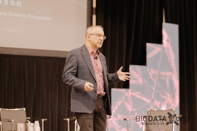 Leon Katsnelson at Big Data Toronto 2018 (CNW Group/Corp Agency)