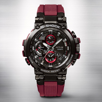 28dcd43f53 Casio G-SHOCK Introduces A New Connected MT-G In Vibrant Red Colorway