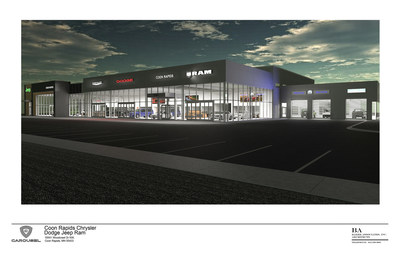 Coon Rapids Jeep >> Carousel Motor Group Announces Opening Of New Coon Rapids