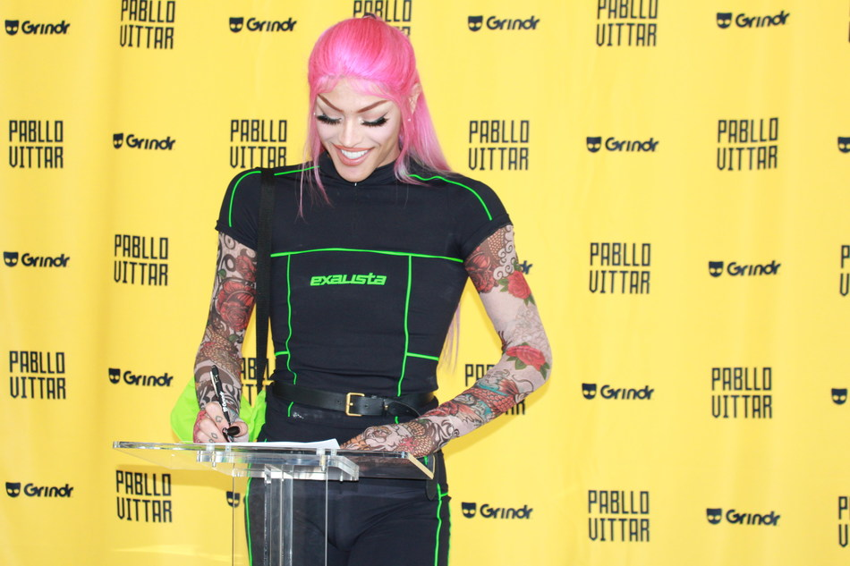 Pabllo Vittar and Grindr partnership. Photo credit: Gabriel Renne