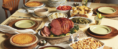 This Easter, Cracker Barrel Old Country Store and Operation Homefront helped provide 500 military families a Heat n' Serve Easter Family Meal To-Go. The meal serves up to 10 people and includes spiral sliced ham, mashed potatoes, roasted gravy, three country sides, sweet yeast rolls and two buttermilk pies.