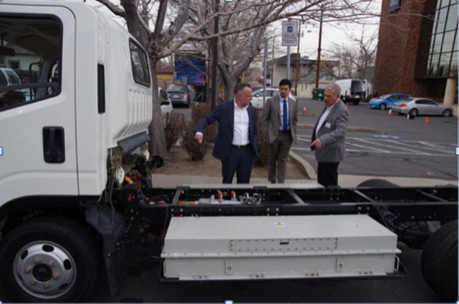 Jim O'Connell reviews newest Class 4 truck electric power system
