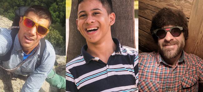 The Climbing Trio: Alessio Nardellotto, Getulio Felipe, Pedro McCardell