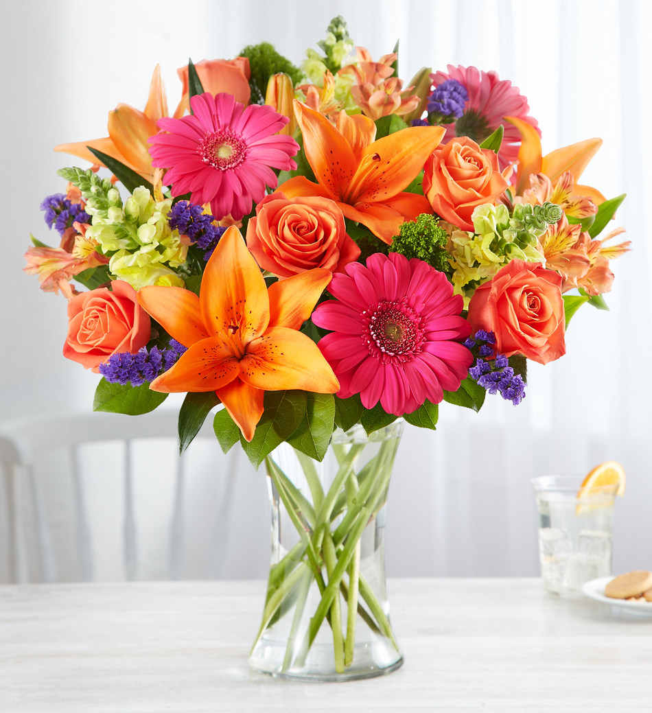 Vibrant Floral Medley™ by Breanna Cartwright