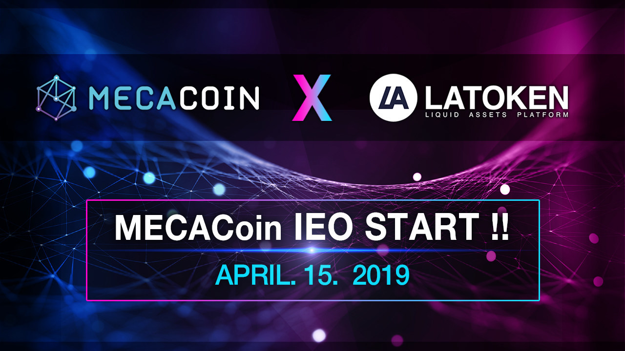 In partnership with rapidly growing top-20 Crypto exchange LATOKEN, Crypto Meca started token sale from April 15