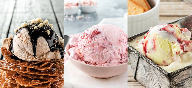 Parker Products recently released their annual list of ice cream Feature Flavors and the new menu is as intriguing as ever.