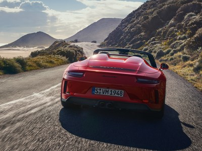 The 2019 Porsche 911 Speedster was unveiled In New York on April 16, 2019. (CNW Group/Porsche Cars Canada)