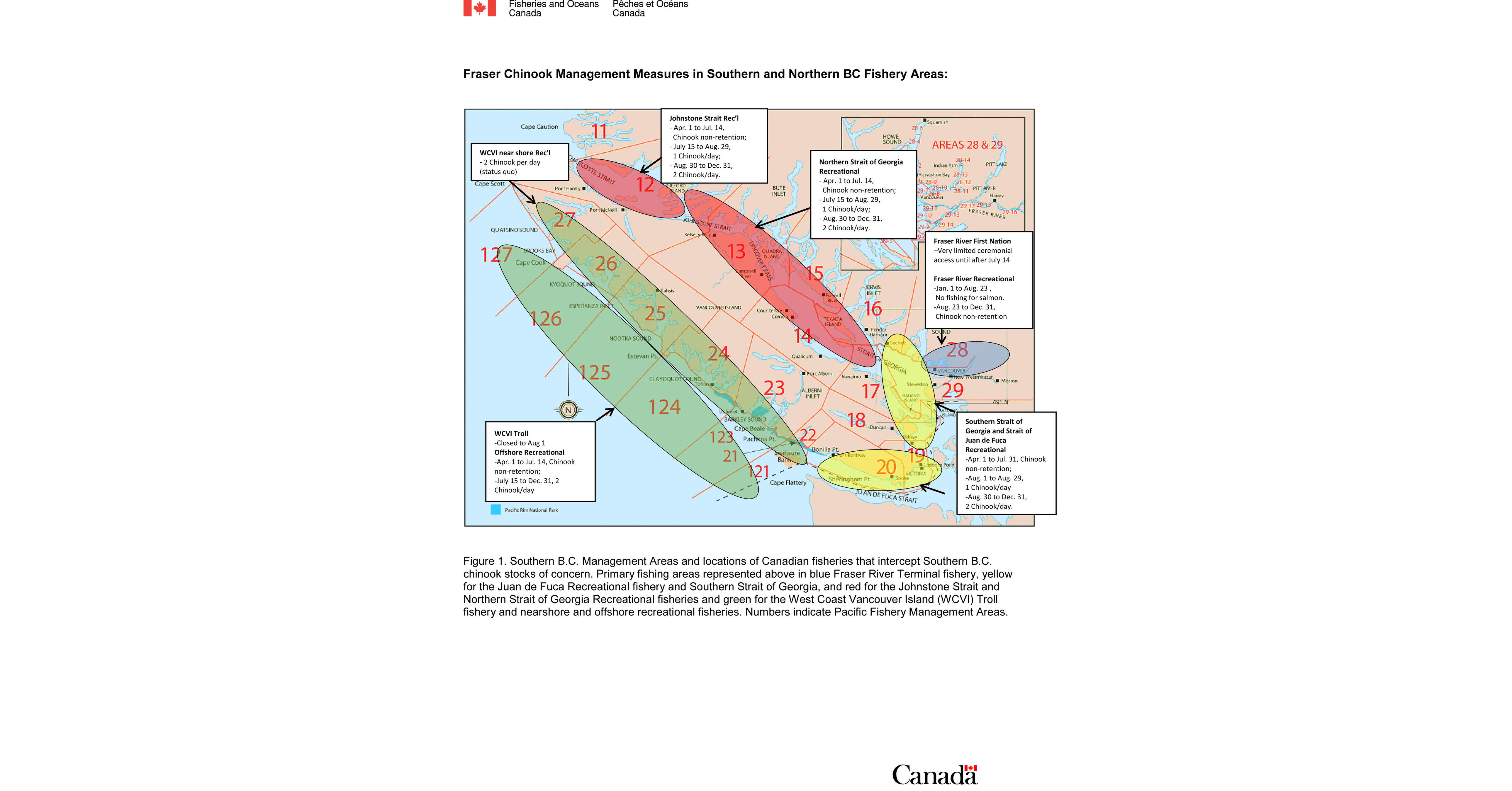 Map Of Canada Government Of Canada.Government Of Canada Takes Action To Address Fraser River Chinook